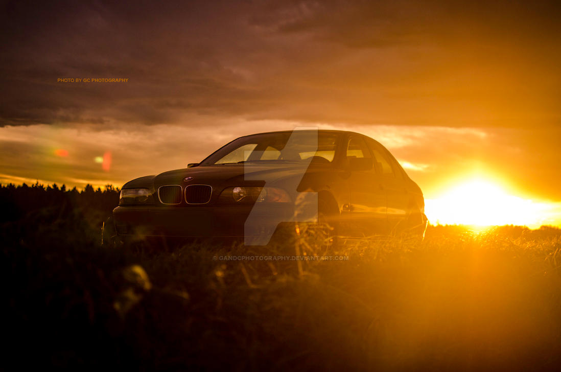 BMW Sunset by GandCphotography on DeviantArt
