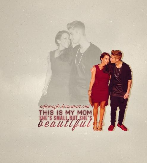 Justin Bieber y Pattie Mallete by SofiSwagJB
