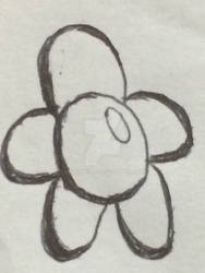 Inctober day 14: A beautiful flower :3
