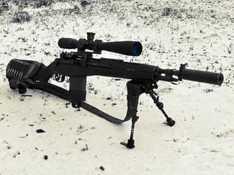 M14 SOCOM by Profail