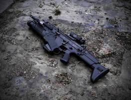 FN Scar Heavy by Profail