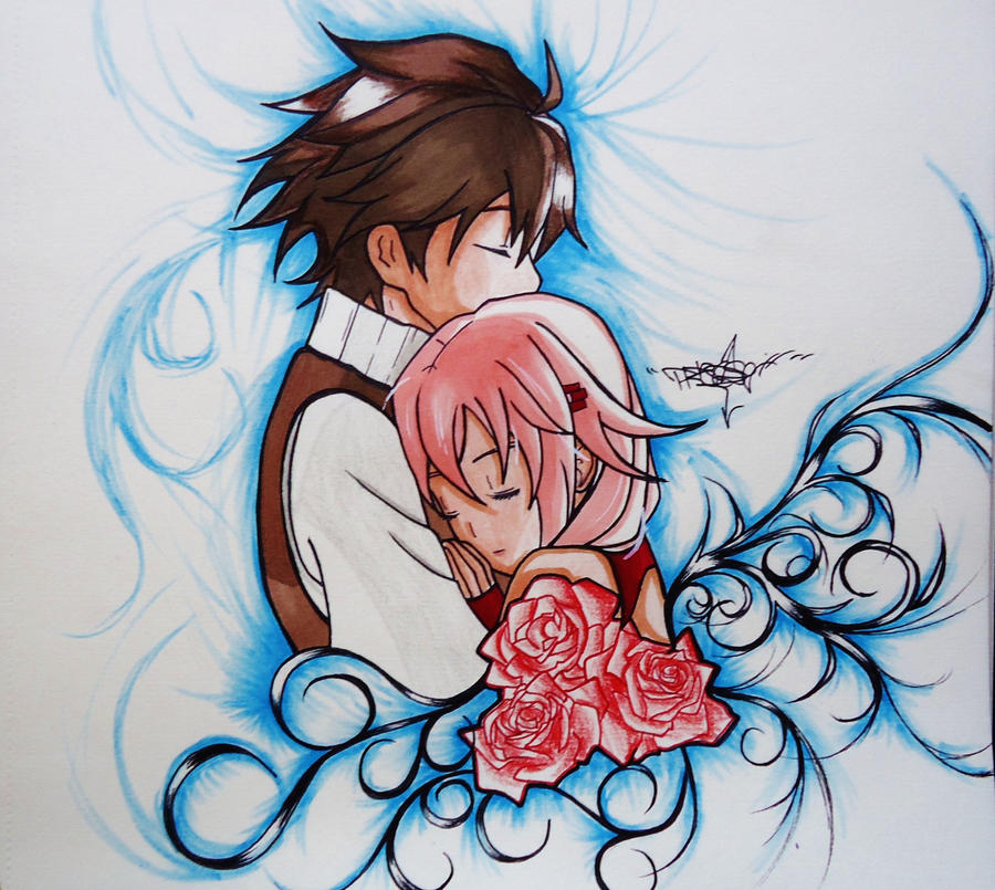 Shu And Inori by Precise24