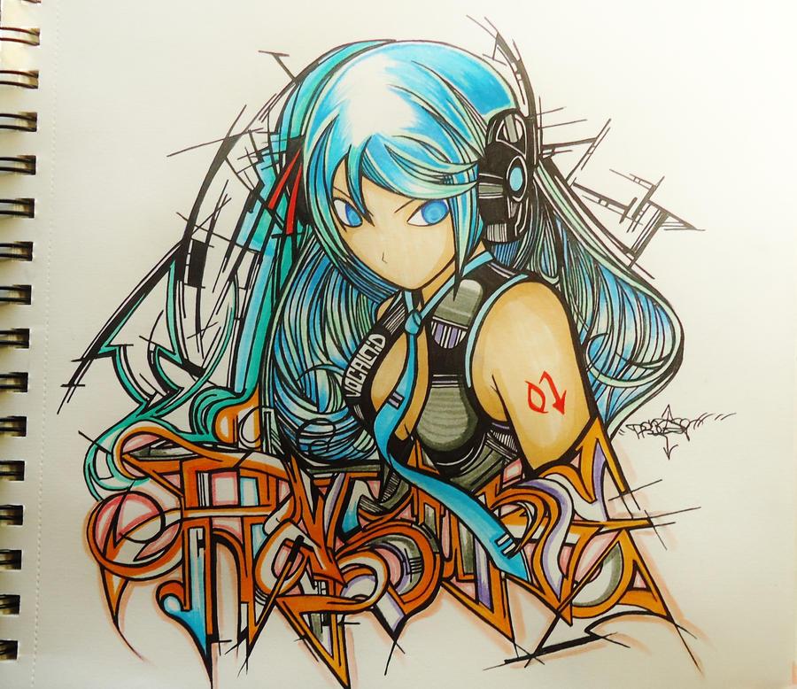 Hatsune by Precise24