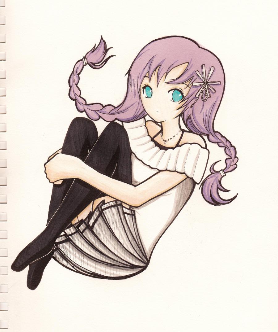 Anime Girl by Precise24