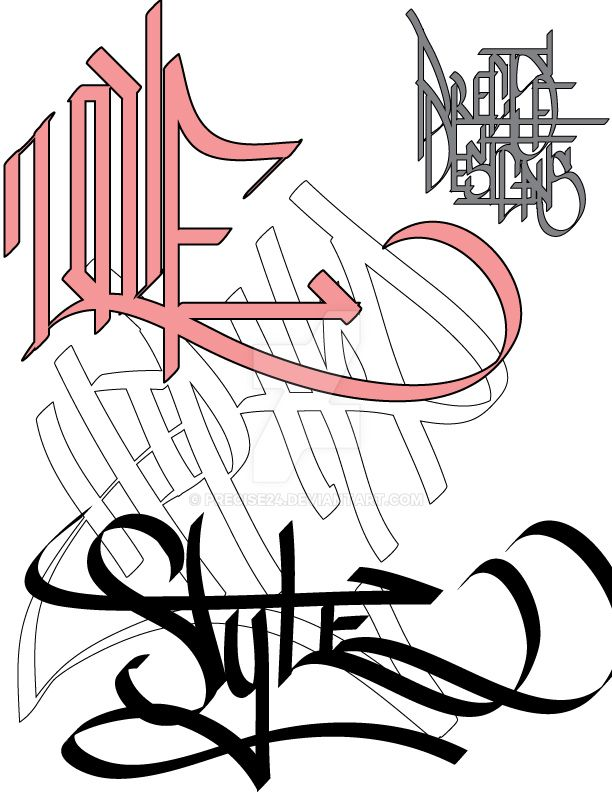 Handstyles by Precise24