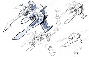 jet fighter sketches by ravager3