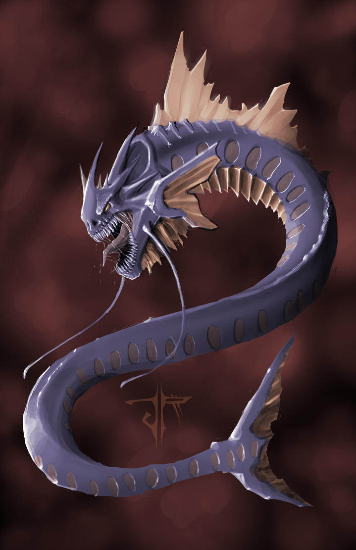 Who's your Spirit Pokemon? (requesting a lock) - Page 2 Gyarados_by_ravager3-d344stv
