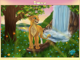 Shema the lioness-commish
