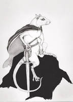 rat Warrior by GrimVixen