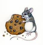 Cookie Mouse by GrimVixen