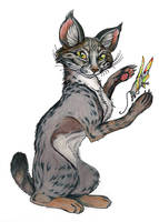 Bobcat Magic by GrimVixen