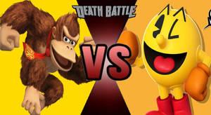 Death Battle: Donkey Kong Vs  Pac-man by kart42 on DeviantArt