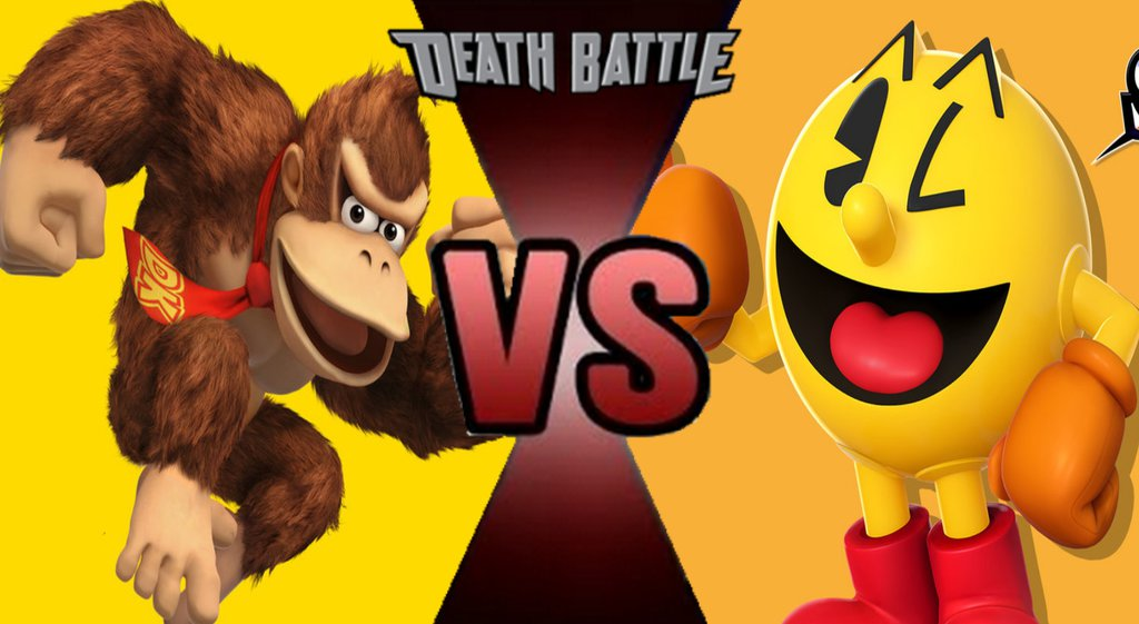 Image result for pacman vs donkey kong