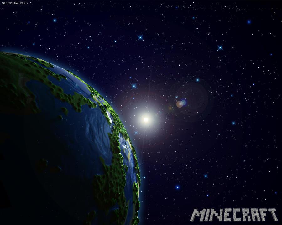 Planet Minecraft by simeonradivoev on DeviantArt  Planet Minecraf...