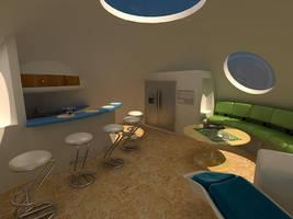 The Venus Project Dome House by simeonradivoev