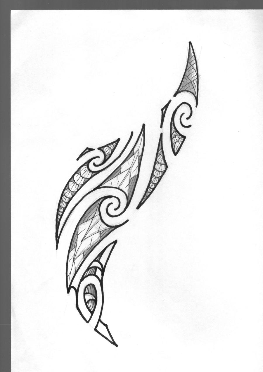Maori Tattoo By Marino-art On DeviantArt