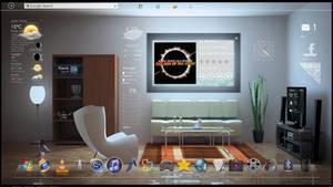 My 'Interior Rainmeter Nexus Winstep' Desktop