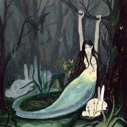 mermaid by ICHARLU
