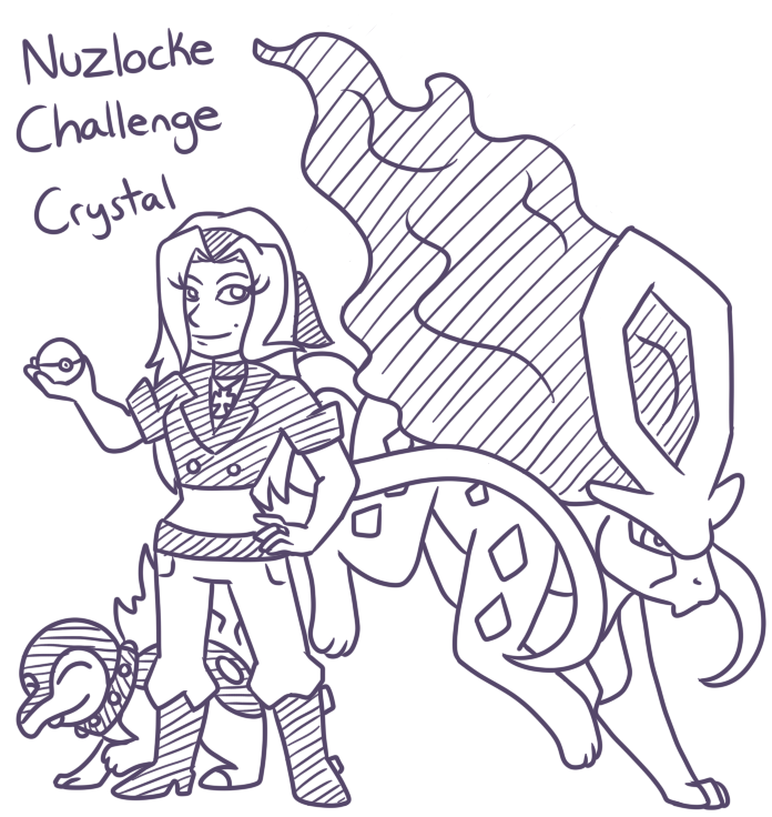 Nuzlocke Challenge Crystal By TheLeatherDragonI On DeviantArt