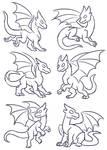 Free Dragon Poses