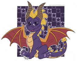 Spyro by TheLeatherDragonI