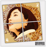 girl in the puzzle