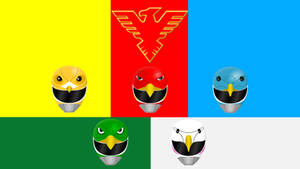 Jetman (With Green Eagle)