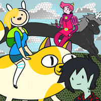 Adventure Time by Kat-1900