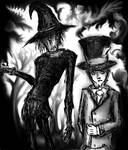 Scarecrow and Hatter