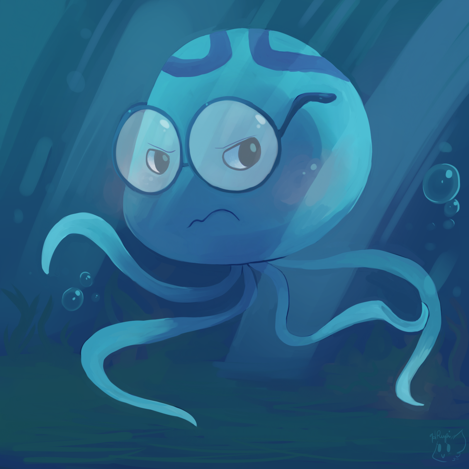 Help i 39 m a jellyfish by honrupi on deviantart for Help i ma fish