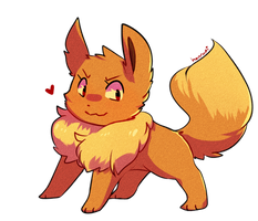 Simply Eevee by honrupi