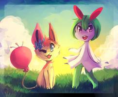 Friendship by honrupi
