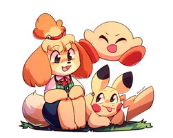 Isabelle Joins the Party!