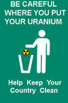 Where Do You Put Your Uranium?
