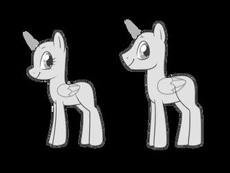 Pony Base Ftu by klngkumquat
