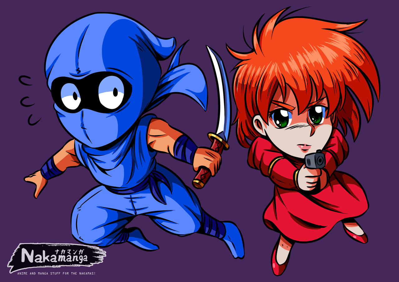 Ryu And Irene Chibi 80 S Style Ninja Gaiden By Famifan On Deviantart