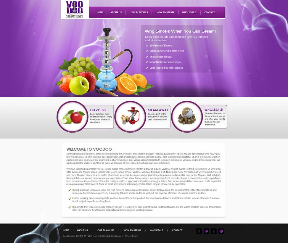 Hookah UI Design