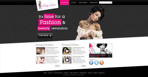 Fashion UI Design