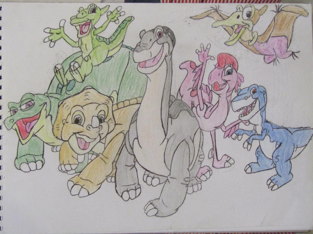 the land before time final result by cybertronianbrony on deviantart