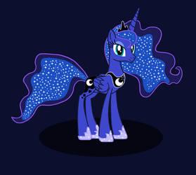 Beautiful Princess of the Night by CybertronianBrony