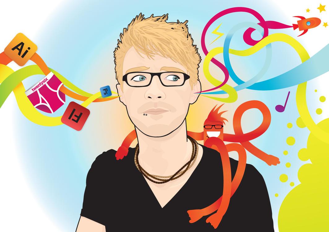 My Portrait by ACampion