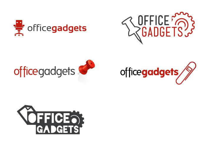 Office Gadgets - Logo ideas by ACampion