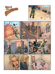 Halle Comic Page by pozzey