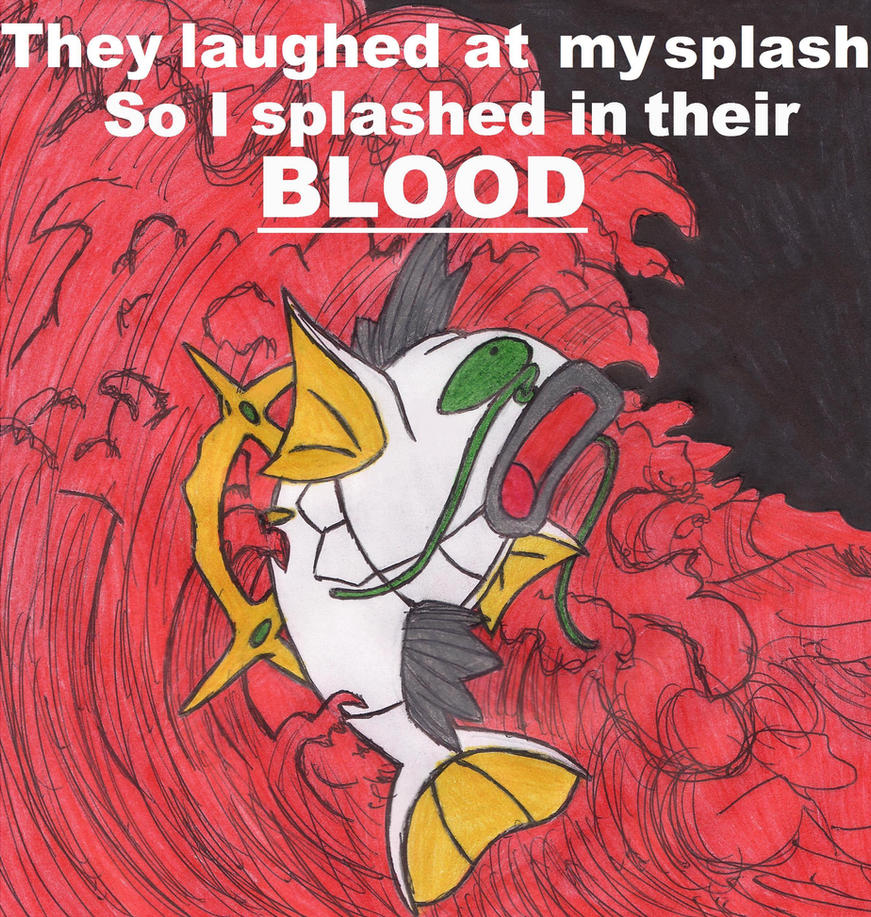 Magikarp is an Arceus by MadHatter-Himself