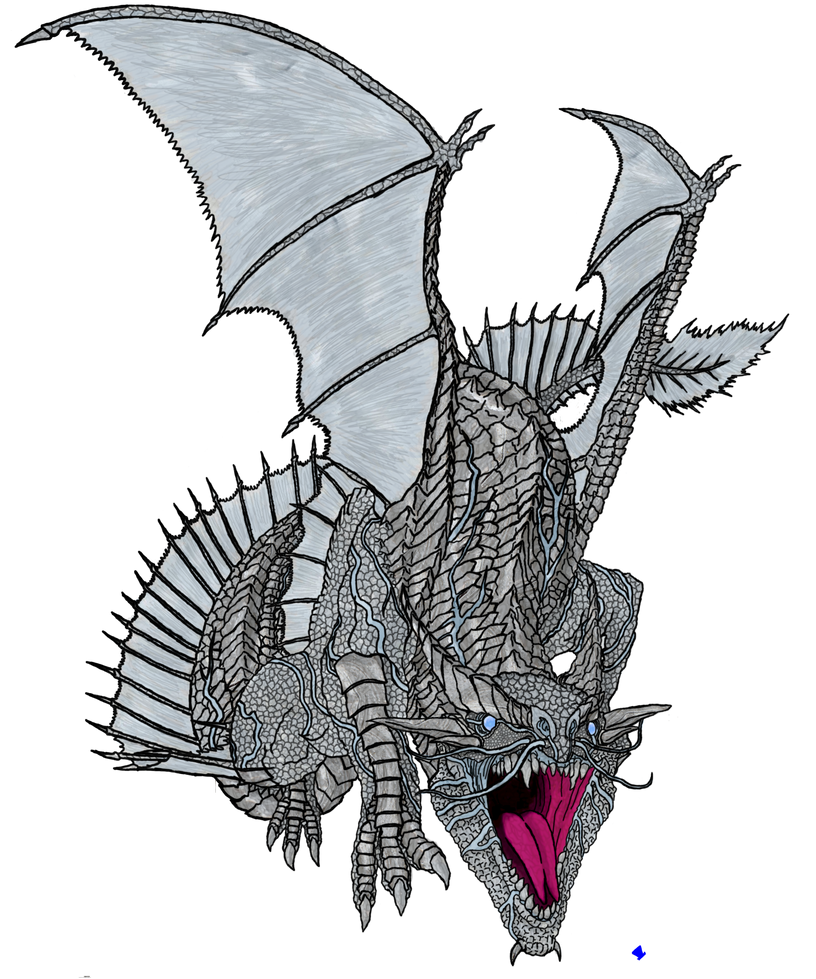 DnD - Bahamut, Dragon-God of Justice by MadHatter-Himself