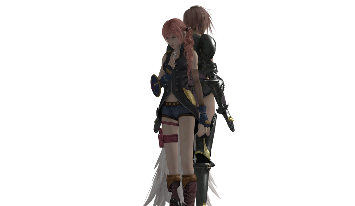 Final Fantasy XIII - Lightning and Serah by SilverMoonCrystalFinal Fantasy Serah And Lightning