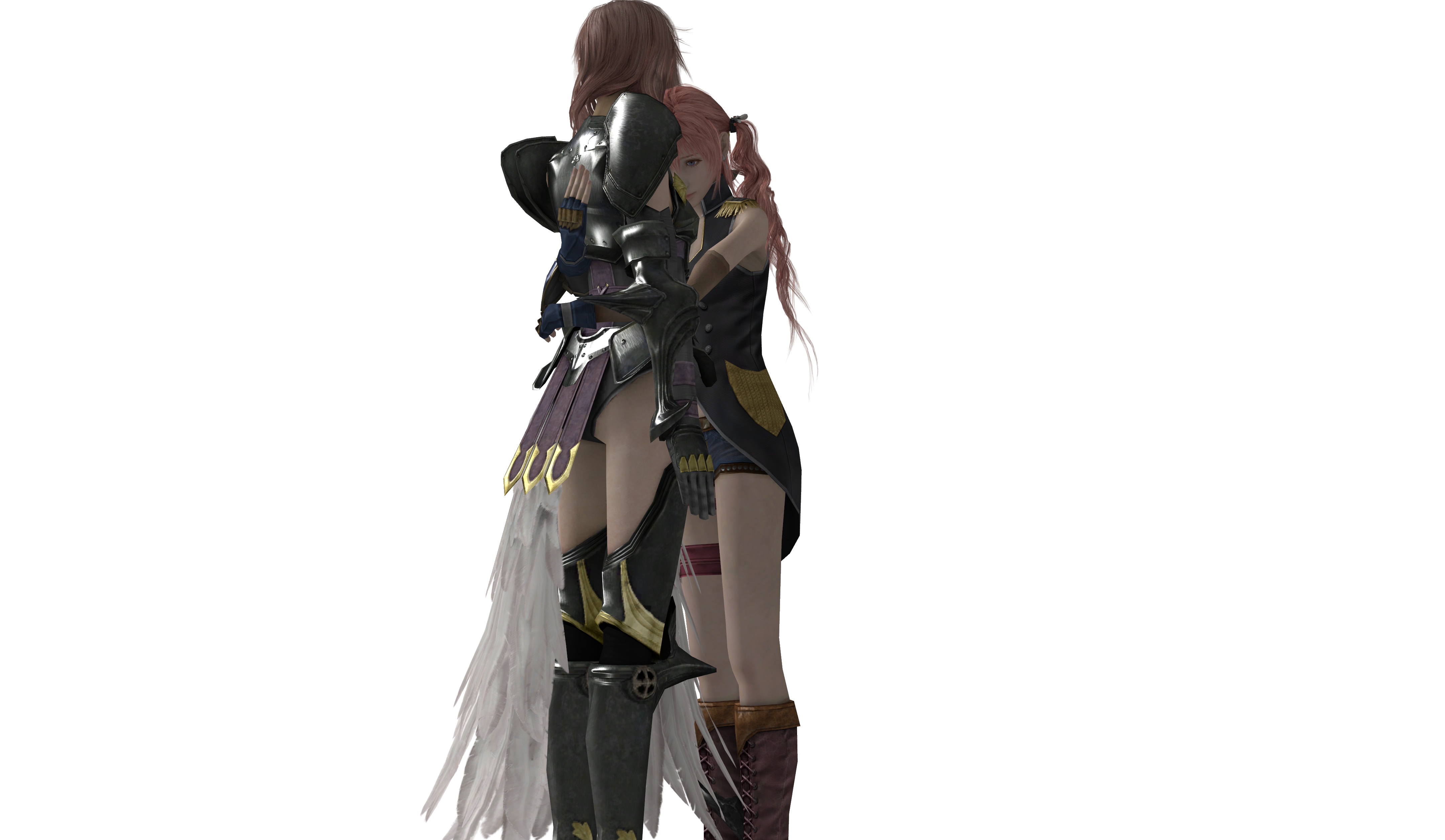 Final Fantasy XIII - Lightning and Serah 2 by SilverMoonCrystalFinal Fantasy Serah And Lightning