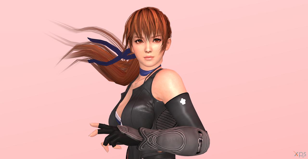 XnaLara - Kasumi Render (Ninja Outfit) 2 by SilverMoonCrystal