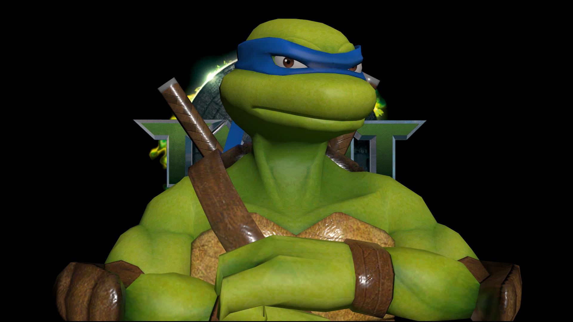 As Tartarugas Ninjas No Deviantart Gifs: Leonardo Wallpaper By SilverMoonCrystal On DeviantArt