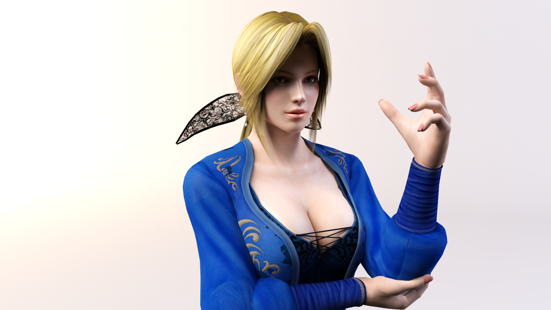 3DS Max - Helena Render 2 by SilverMoonCrystal